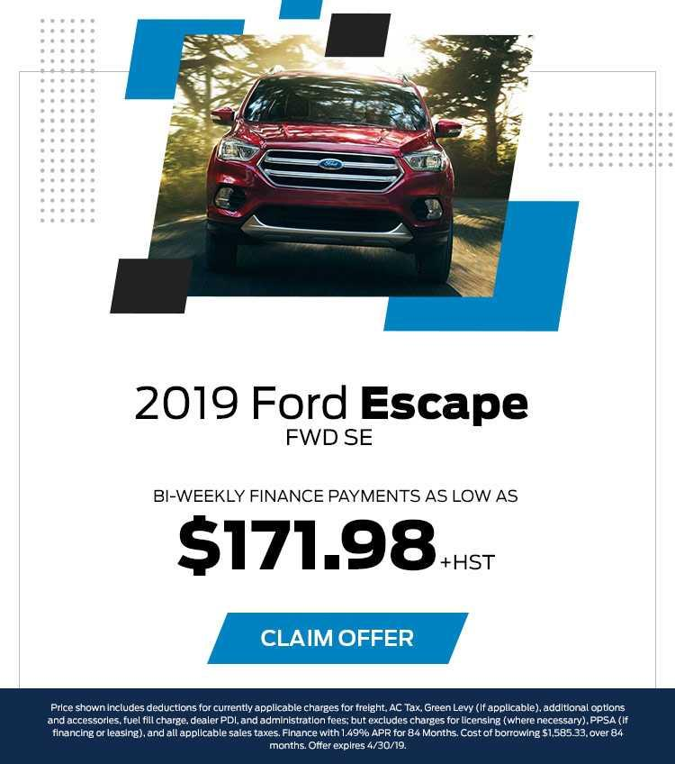 Barrie Ford Escape April