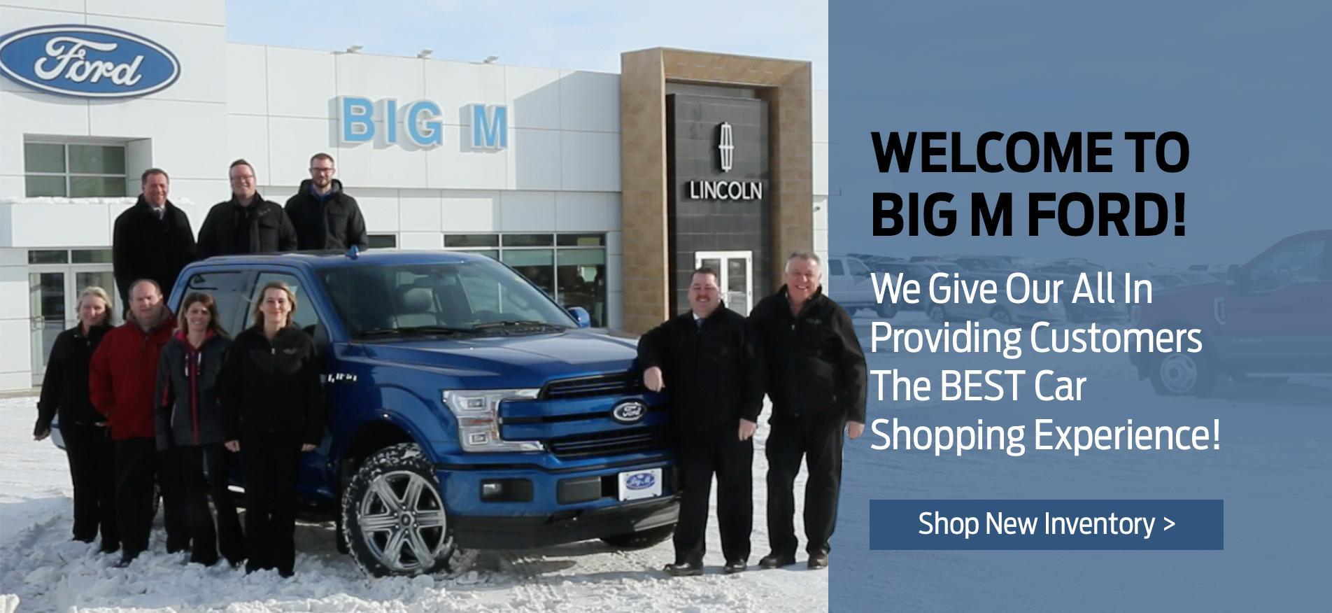Welcome to Big M Ford