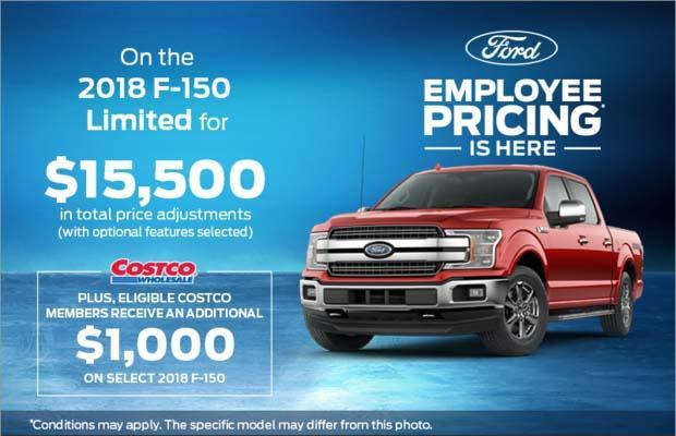 Employee Pricing - F-150