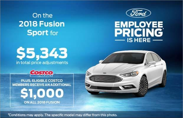 Employee Pricing - Fusion