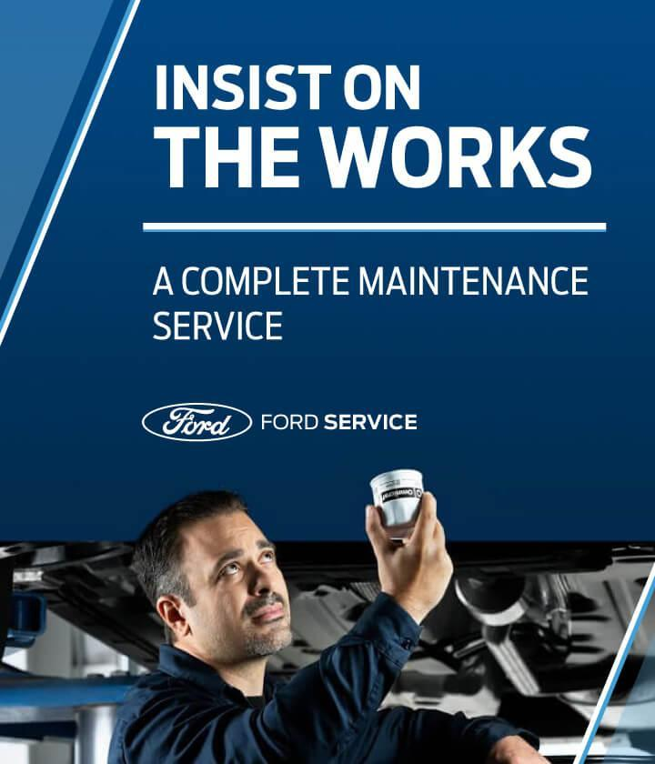 The Works : Complete service package