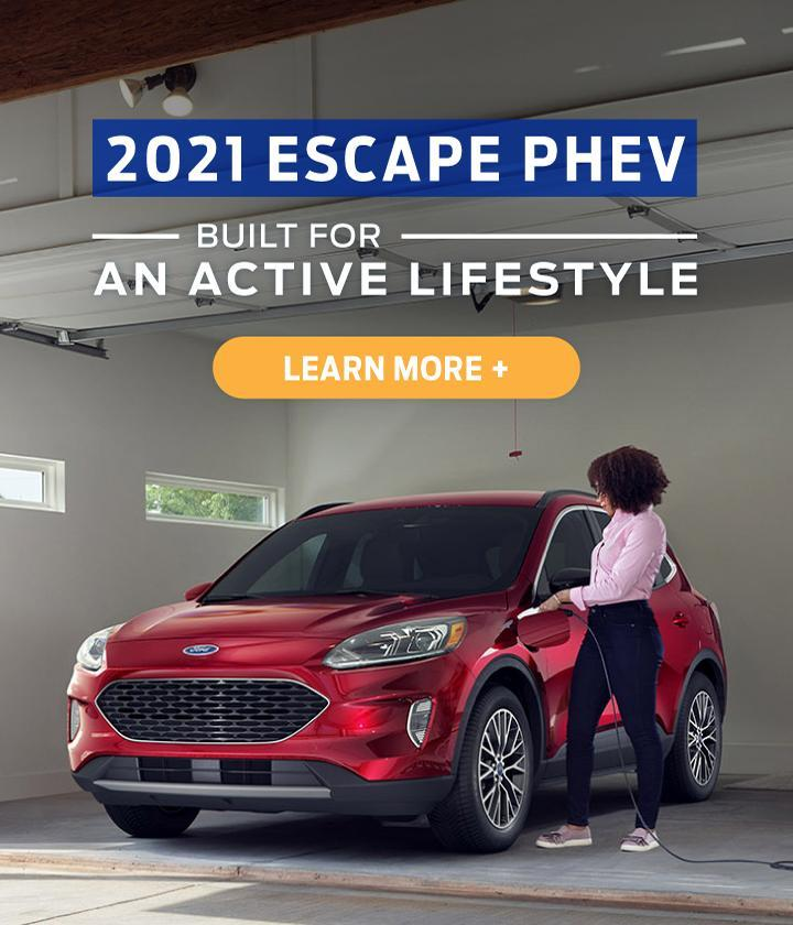 2021 Escape PHEV
