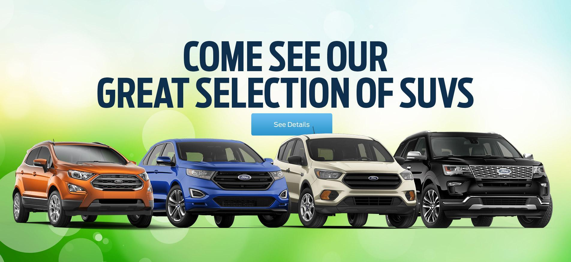 2019 SUV Selection