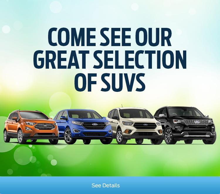 2018 SUV Selection