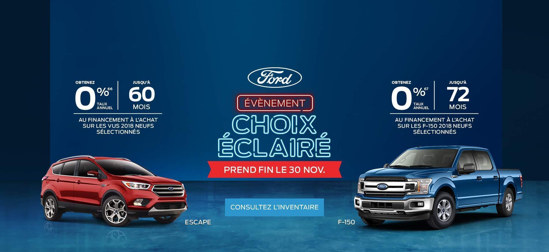 La Perade Ford Choix éclairé