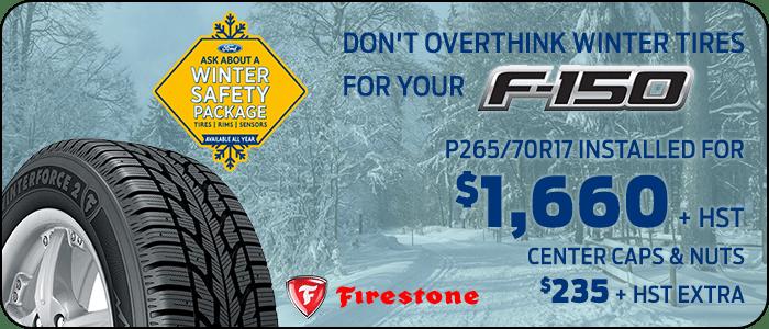 F-150 winter tire offer