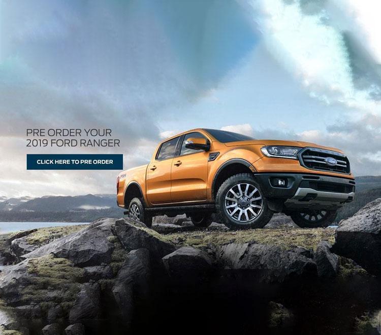 2019 Ford Ranger Orange