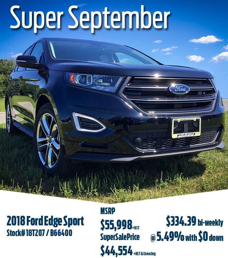 2018 Edge Sport 18T207
