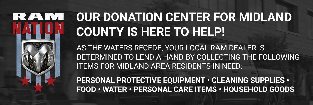 ram nation donation center