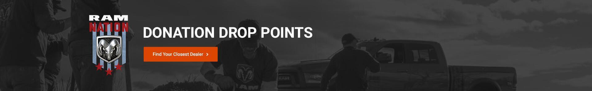 Donation Drop points