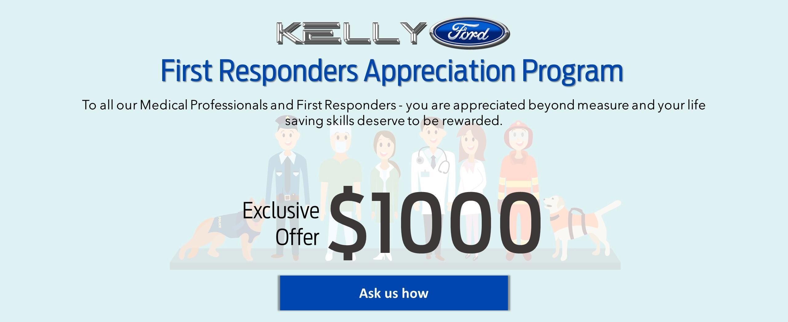 First Responders Appreciation Program