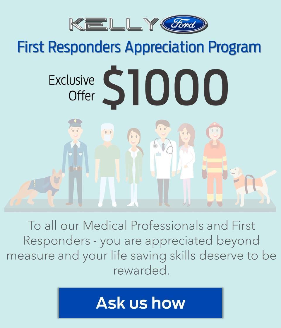 First Reponders Appreciation Program