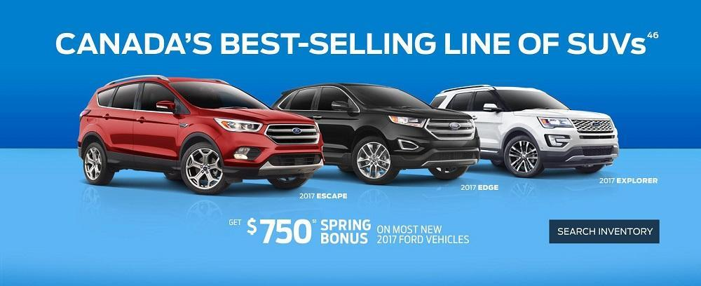 $750 Spring Bonus at Lincoln Heights Ford