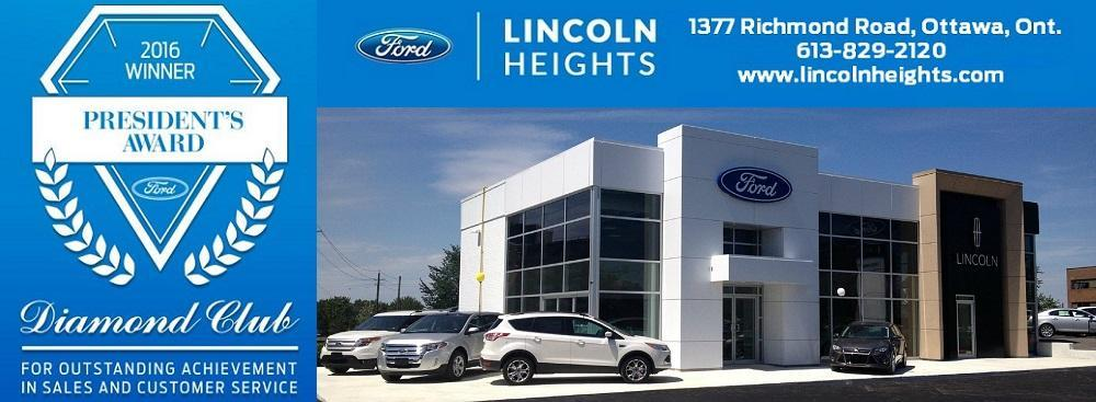 Employment at Lincoln Heights Ford