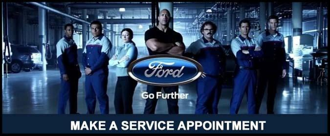 Make a Service Appointment at Lincoln Heights Ford