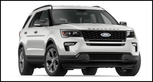 2018 Ford Explorer at Lincoln Heights Ford Ottawa