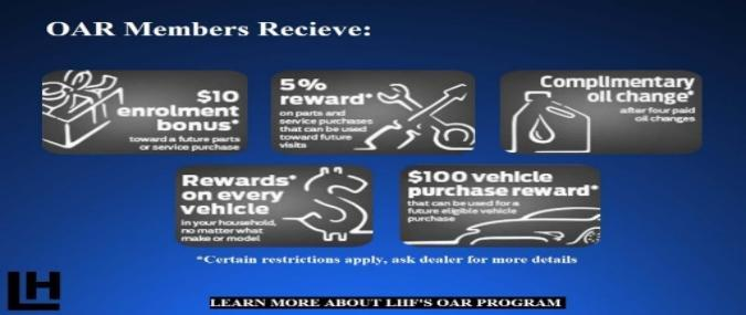 LHF Owner Advantage Rewards