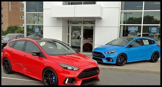 2018 Ford Focus RS at Lincoln Heights Ford Ottawa