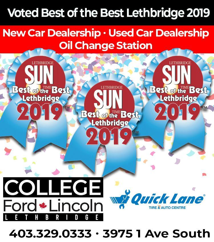Best of the Best 2019 College Ford Lincoln and Quick Lane - mobile