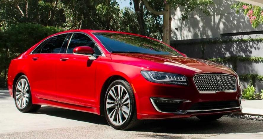 2019 Lincoln MKZ luxury sedan