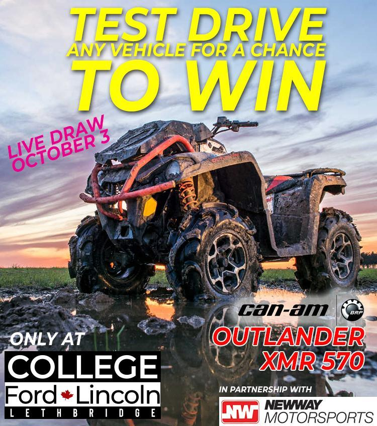Test Drive and Win!