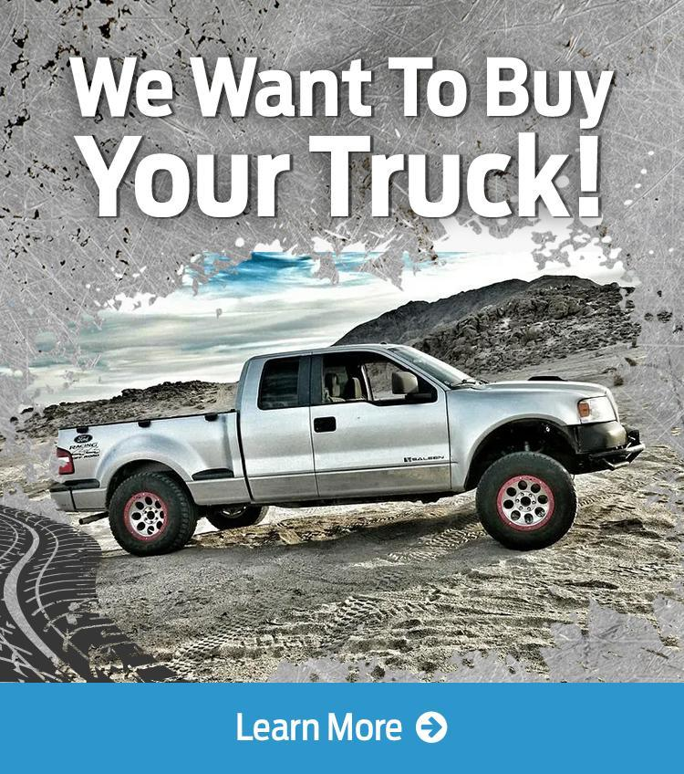 We want to buy your truck