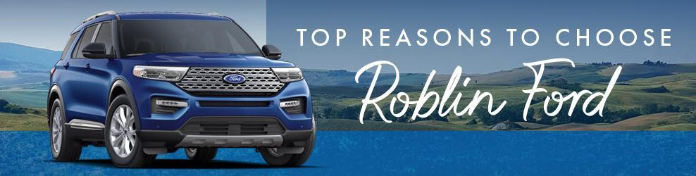 Top reasons to choose Roblin Ford