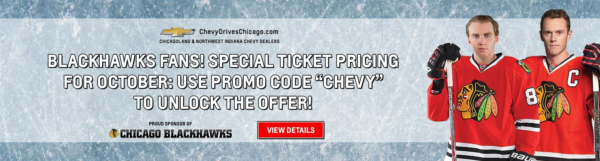 Chevy Drives Chicago Blackhawks Special