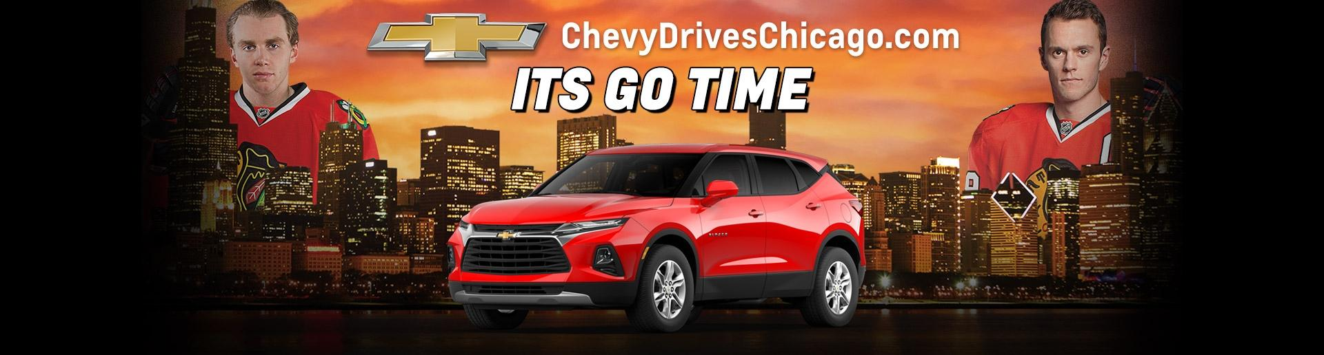 It's Go Time at Your Chicagoland and NW Indiana Chevy Dealers | Chevy Drives Chicago