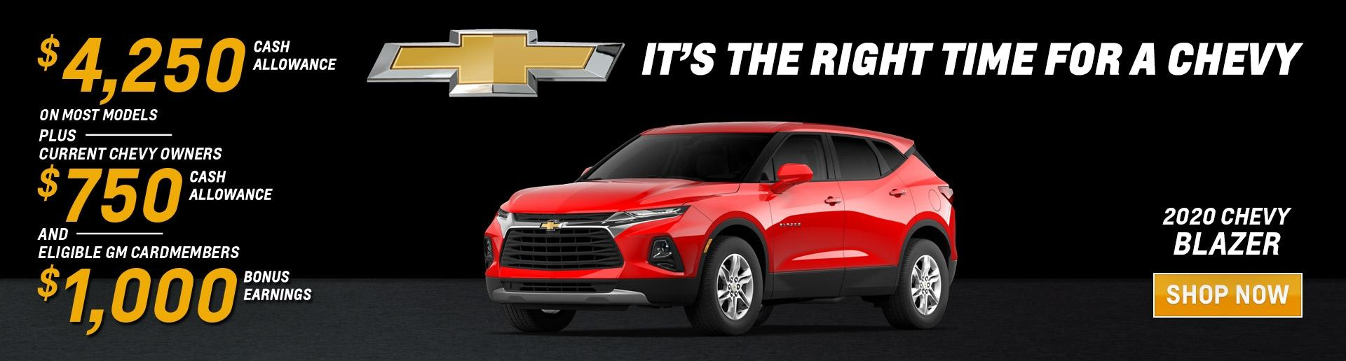 It's the Right Time for a Chevy Blazer | Chevy Drives Chicago | Chicagoland & NW Indiana Chevy Dealers