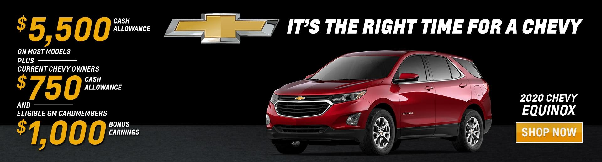 Its' the right time for a 2020 Chevy Equinox | Chevy Drives Chicago | Chicagoland & NW Indiana Chevy Dealers