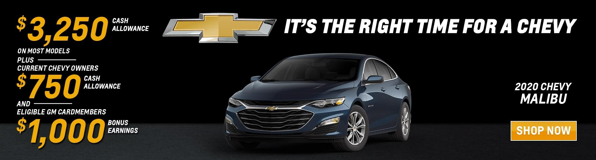 It's the Right Time for a Chevy Malibu | Chevy Drives Chicago | Chicagoland & NW Indiana Chevy Dealers