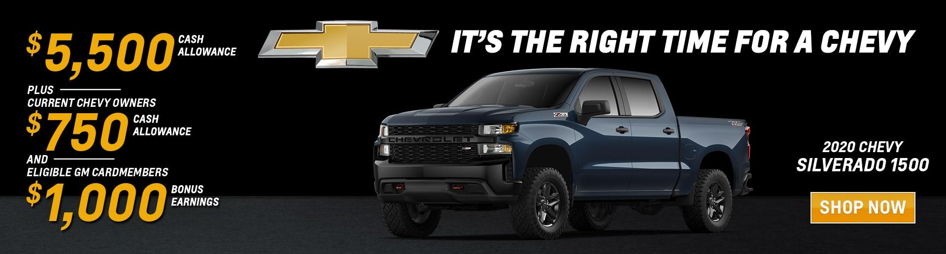 It's the Right Time for a Chevy Silverado