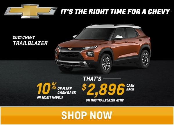 Trailblazer Offers