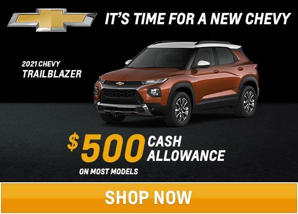 Trailblazer Offers
