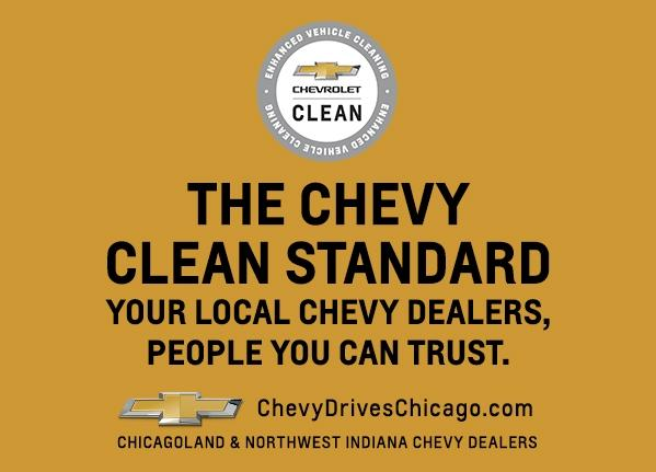 The Chevy Clean Standard | Chevy Drives Chicago