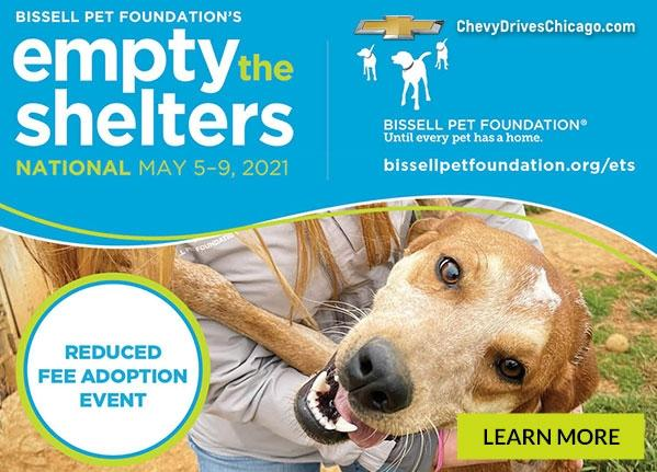 Empty the Shelters Event | Chevy Drives Chicago
