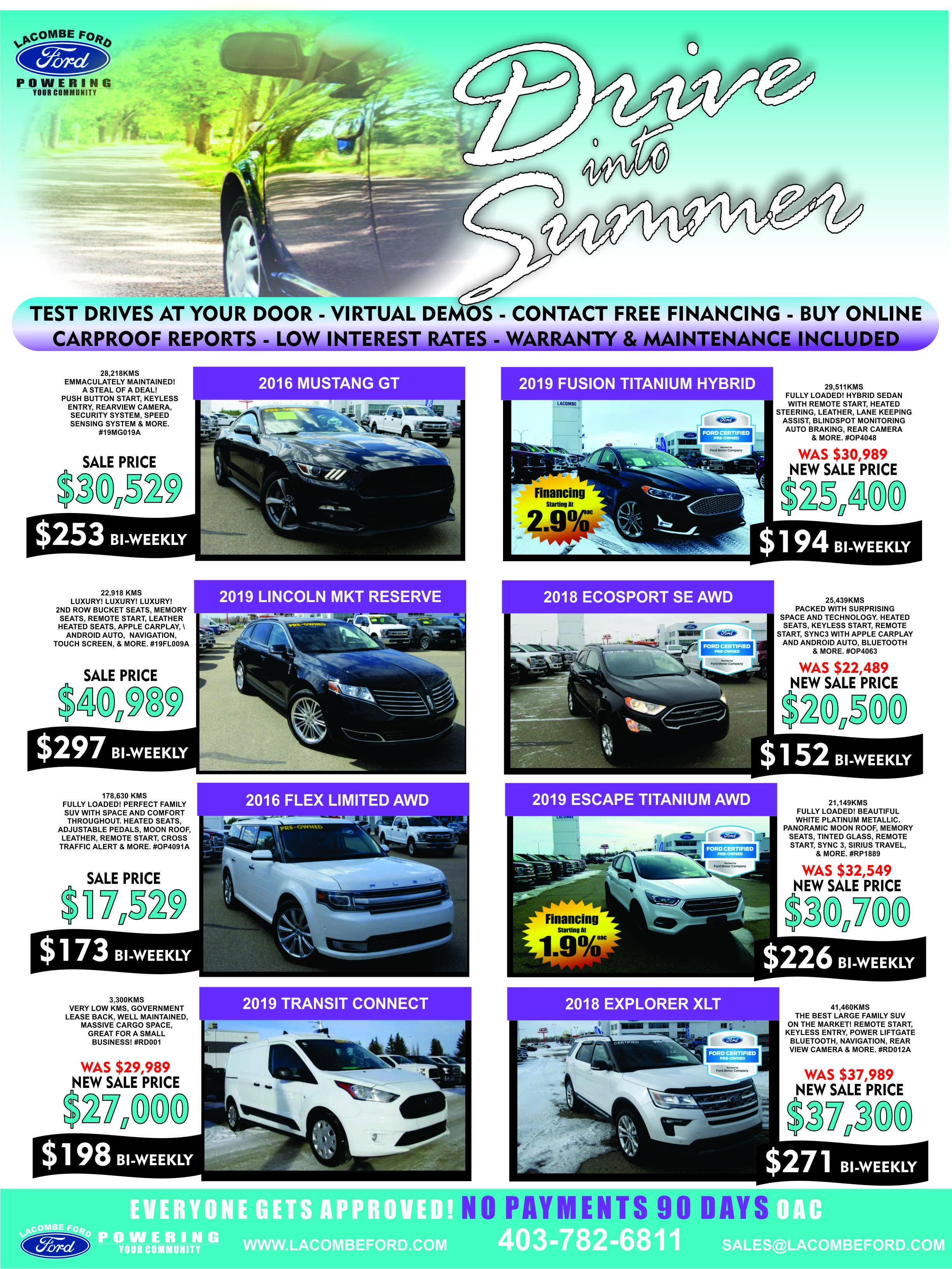 used vehicles for sale in lacombe alberta ford preowned