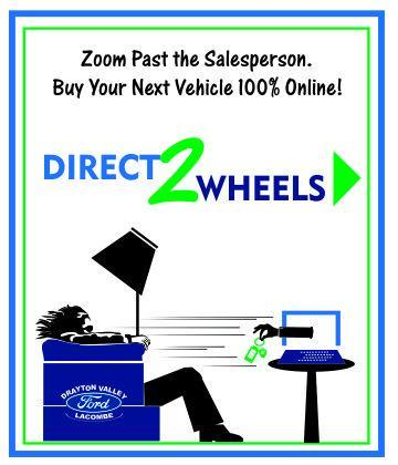 buy online car shopping with direct2wheels lacombe alberta