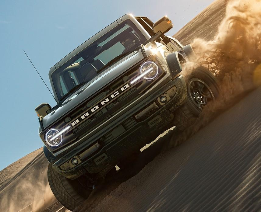 2021 ford bronco at lacombe ford alberta