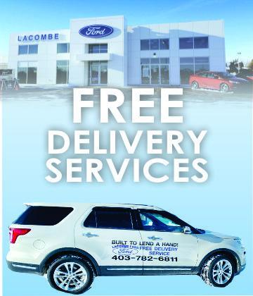 Built to lend a hand. Free delivery services in Central Alberta for covid-19 pandemic