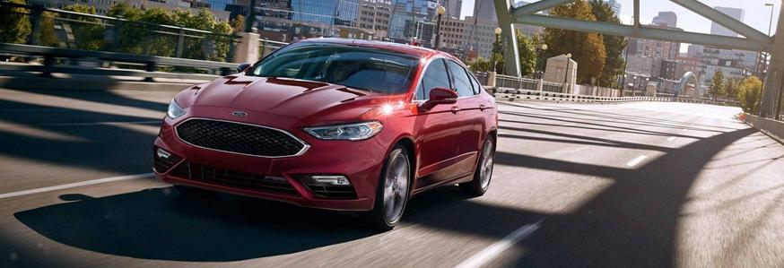 2019 ford red