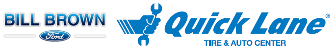 Quick Lane Tire and Auto Center at Bill Brown Ford