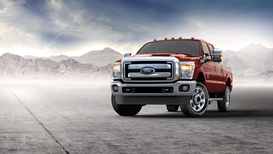 2016 Ford Super Duty XLT 4x4 in Bronze Fire with Premium Package
