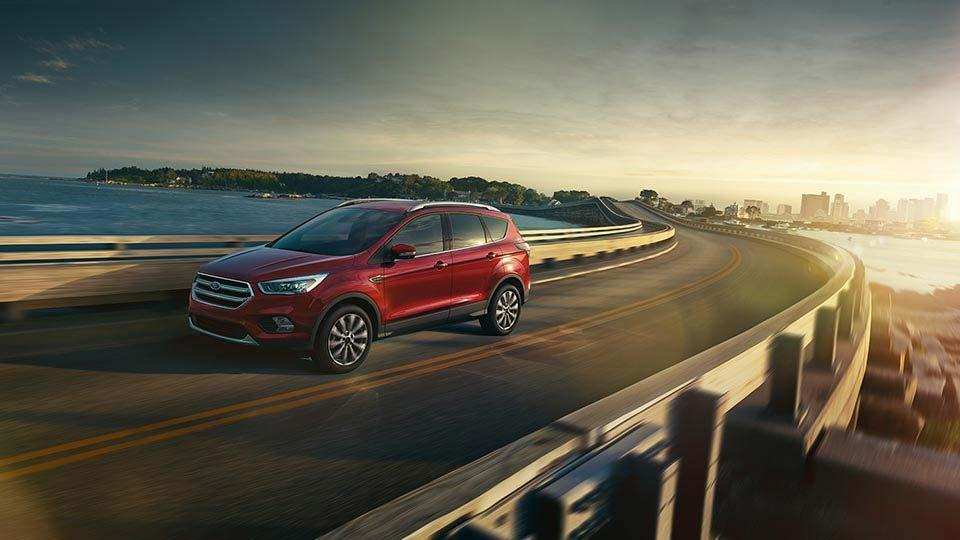 2017 Ford Escape Titanium Ruby Red Metallic