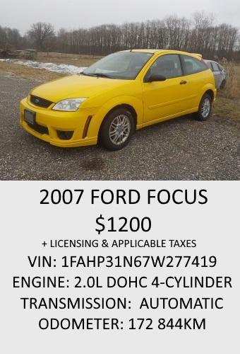 2007FordFocus