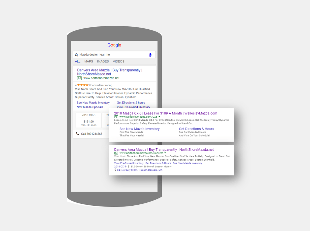 Managed Paid Search Examples