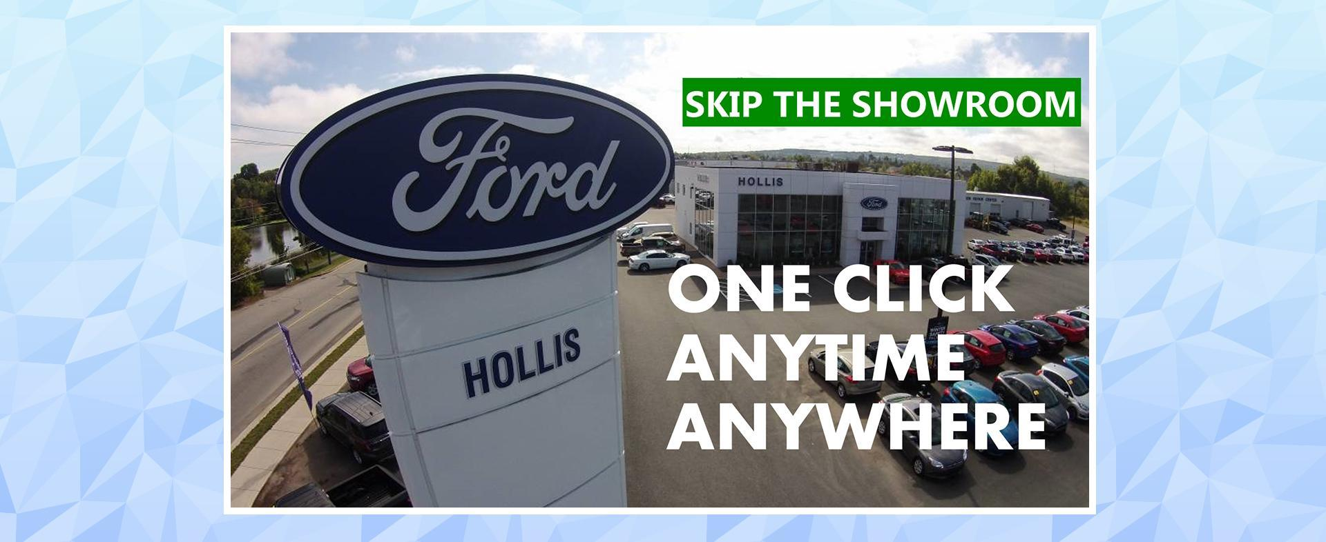 Skip the showroom