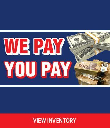 At Merit Ford you pay USD and we pay CAD.