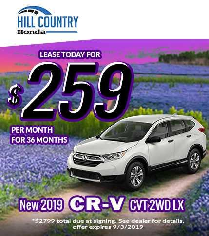 2019 Honda CR-V Summer Spectacular